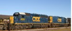 CSX 6955 & 2355 arrive on train F781-24