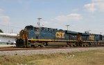 CSX 5232 & 5273 lead train Q416 northbound