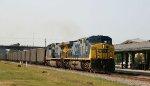 CSX 434 & 380 lead an empty coal train northbound