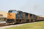 CSX 4765 & 4782 lead a loaded coal train southbound