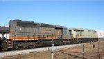 GCFX 6067 follows CSX 5221, still in stealth paint