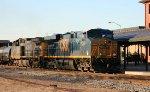CSX 5251 & 71 lead a train northbound