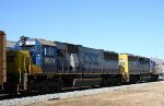 CSX 8670 & 8376 head north
