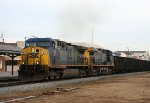 CSX 98 & 81 lead a coal train southbound
