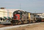 HLCX 6137 leads a CSX train southbound