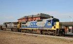 CSX 7640 & 7804 lead train F774-03 northbound