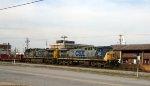 CSX 63 & 544 lead train F774-09 northbound