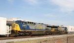 CSX 656 & 622 head northbound