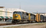 CSX 8758 & 8856 lead a train southbound