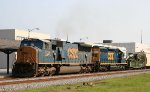 CSX 4739 & 8121 lead train Q415 southbound