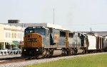 CSX 8727 & 8635 lead train Q409 southbound