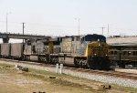 CSX 5013 leads train U191-22 past the station