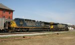 CSX 550 & 5013 take train U191 northbound