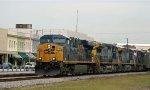CSX 5384 leads train R409 southbound