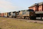 CSX 5306 & 4733 lead a northbound train