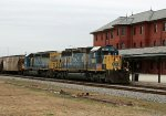 CSX 8082 & 8090 lead train G955 northbound