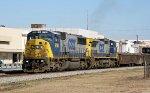 CSX 8766 & 7354 lead train Q451-14 southbound