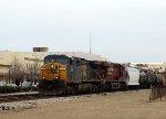 CSX 92 leads train Q447-31 southbound