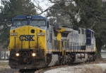 CSX 7363 & 507 sit in the wye