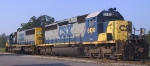 CSX 8120 & 8712 await their next assignment in Pigford yard
