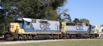 CSX 2318 & 6918 sit in the wye