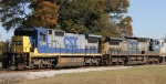 CSX 7596 & 7905 sit in the wye