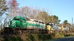 FURX 3007 sits with a pair of CSX units