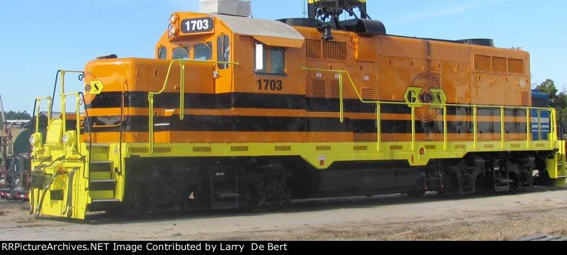 GSWR 1703  No model information on the cab