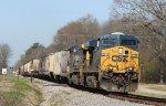 CSX 5238 leads train G739-16 northbound