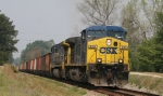 CSX 436 & 439 power train Q777 out of town