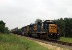CSX 2486 leads train W039-04