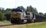 CSX 7796 leads train K760 westbound