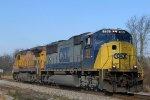 CSX 726 & UP 9097