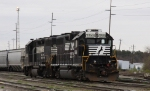 NS 5561 & 5036 are power for the yard job
