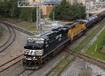 NS 7568 leads train 352 across Boylan