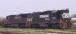 NS 5004 & 8725 sit in Glenwood Yard