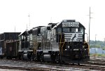 NS 700 & 3102 sit in Glenwood Yard