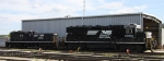 NS 3080 & 916 sit in Glenwood yard
