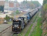 NS 8711 leads train 350 at Boylan