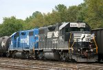 NS 5325 & 5328 sit in the yard