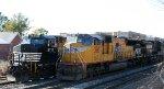 UP 3917 leads NS train 350 at Boylan