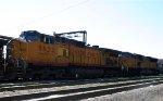 UP 9622 & 8240 sit at the fuel racks in Glenwood Yard