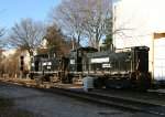 NS 2213 & 2211 take the signal at Southern Junction