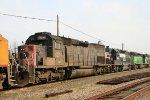 NREX 8250 & NS 5041 head out on NS train 349
