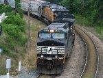NS 9487 leads train 349