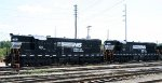 NS 56 & 53 sit in the yard