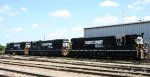 NS 55, 58, and 51 sit in Glenwood Yard
