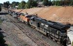NS 8950 leads train 351 across Boylan Junction