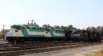 An assortment of locos in NS Glenwood Yard