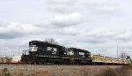 NS 6092 & 3442 lead train 90J past the Fairgrounds
